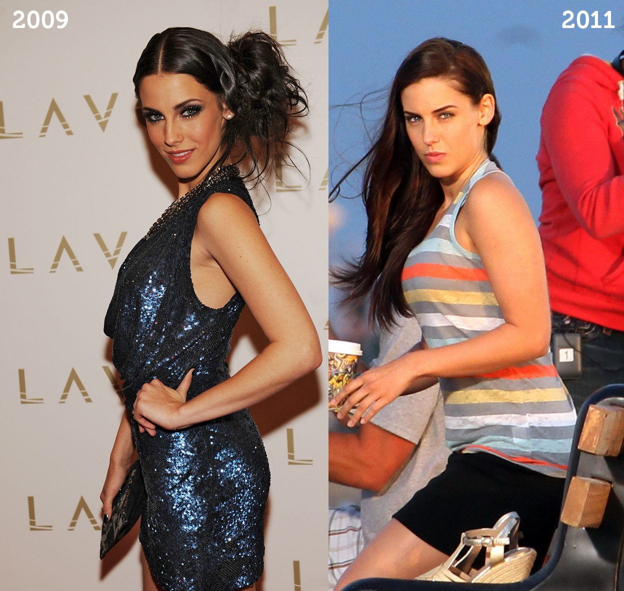 Jessica lowndes weight gain